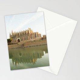 Palma de Mallorca- travel photography- The Cathedral in Palma de Mallorca Stationery Cards