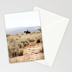 on a horse with no name Stationery Cards