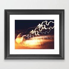 Spiralling Framed Art Print