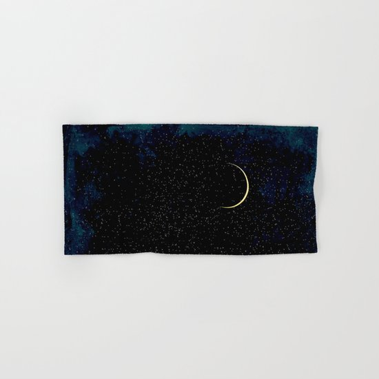 Crescent Moon Hand & Bath Towel