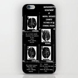 Criminal Brains iPhone Skin
