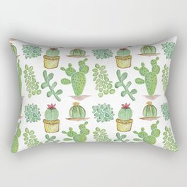 cacti Rectangular Pillow