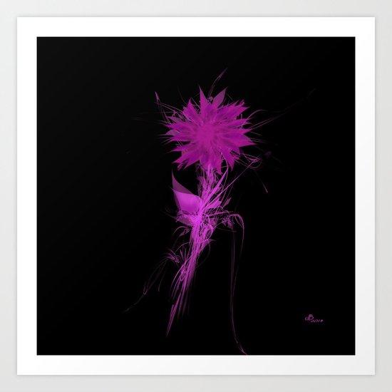 Purple Irradiance Art Print