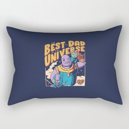 The Best Dad in the Universe Rectangular Pillow