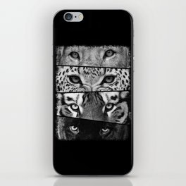 Primal Instinct - version 3 - no text iPhone Skin