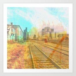Hiawatha Spur Line Art Print