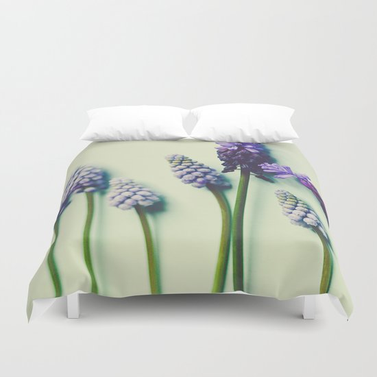 She Liked Everything in it's Place Duvet Cover