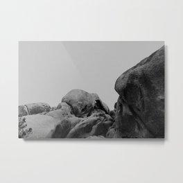 Joshua Tree Rock Formations II Metal Print