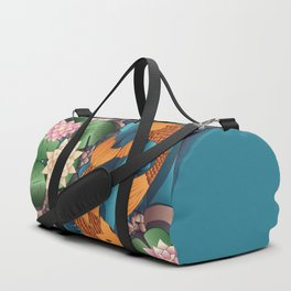 Carp Koi Fish in pond 002 Duffle Bag