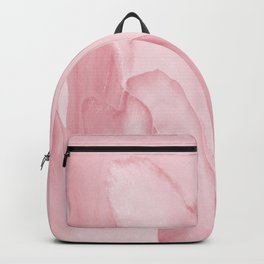 Precious Pink Folds of a Flower Backpack