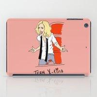 tina iPad Cases featuring Team X-Tina by Lizz Buma
