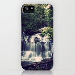 The Wagner Falls iPhone Case