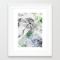 serenity Framed Art Prints featuring Serenity by La Scarlatte