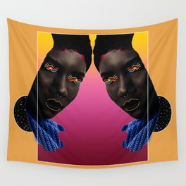 Woman of Color Wall Tapestry