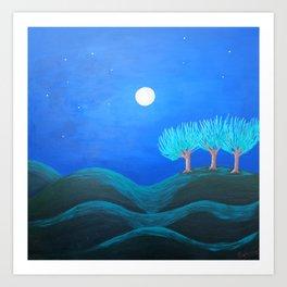 Peaceful Night Art Print