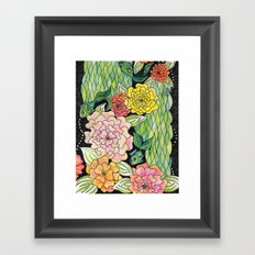 Fish Tropic Framed Art Print