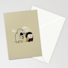 Worst Imaginary Friend Ever Stationery Cards