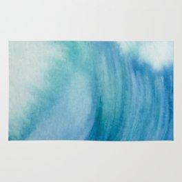 Watercolor Wave Rug
