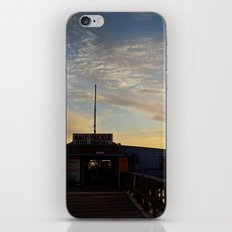 Sunset beyond the Tackle Shack iPhone & iPod Skin