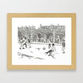 Striker Framed Art Print