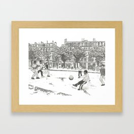 Striker Framed Art Print
