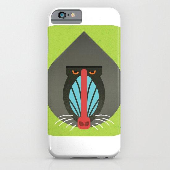 Baboon iPhone & iPod Case