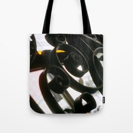ironwork detail Tote Bag