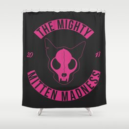 The Mighty Mitten Madness Shower Curtain