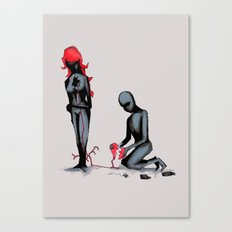Elastic Heart Canvas Print