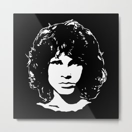 Portrait of Jim Metal Print