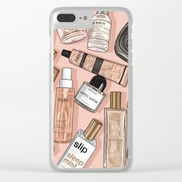 Perfume Paradise Clear iPhone Case