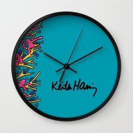 Keith Haring: The Tree of Monkeys Wall Clock