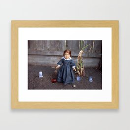 She Who Walks Framed Art Print