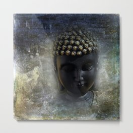 silence in your mind -5- Metal Print