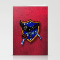 ravenclaw Stationery Cards featuring Ravenclaw by JanaProject