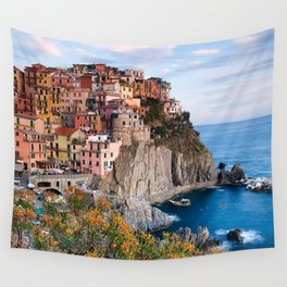 Italy Village Wall Tapestry