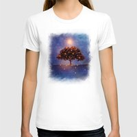 lights T-shirts featuring Energy & lights by Viviana Gonzalez