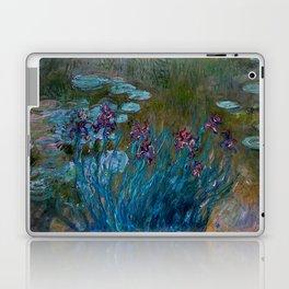 Monet Irises and Water Lilies Laptop & iPad Skin
