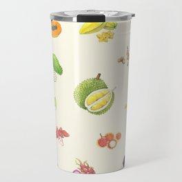 Tropical Fruits Travel Mug