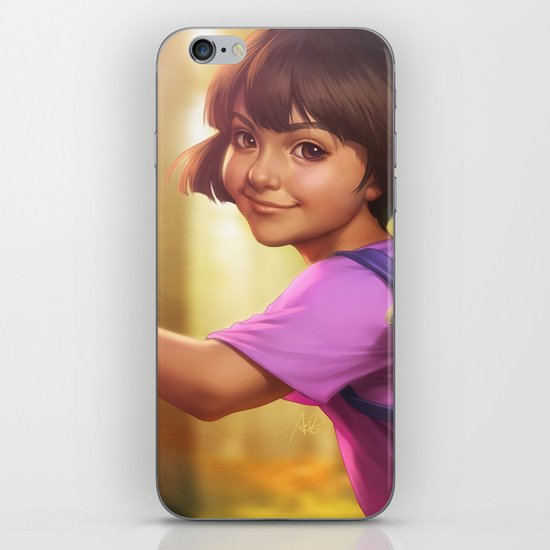 The Little Explorer iPhone & iPod Skin