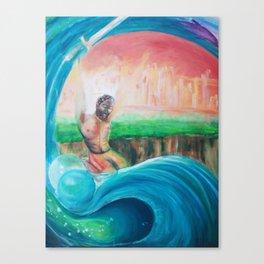The Conqueror Canvas Print