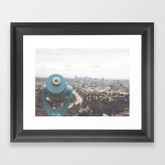 The View: Mulholland Framed Art Print