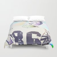 indiana jones Duvet Covers featuring Indiana by Enna