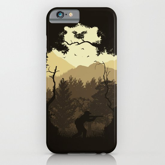 Hunting Season - Brown iPhone & iPod Case