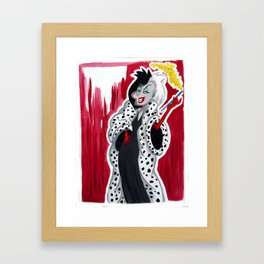 If She Doesn't Scare You, No Evil Thing Will Framed Art Print
