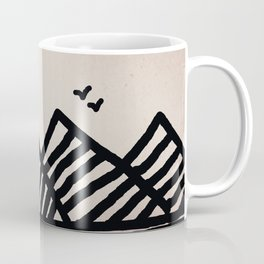 Sky Moutain Birds Coffee Mug