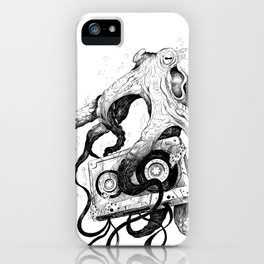 Old MixTapes Never Die iPhone Case