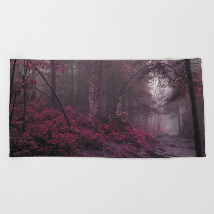Fantasy Forest #woods Beach Towel