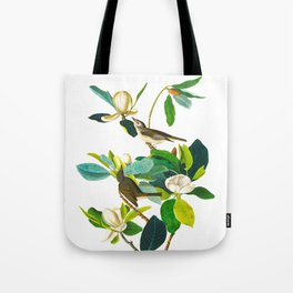 Warbling Flycatcher Bird Tote Bag