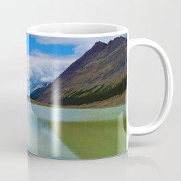 Sunwapta Lake at the Columbia Icefields in Jasper National Park, Canada Coffee Mug